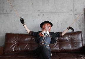 Shibari: Chuuya cosplay 2 by LadyEndora