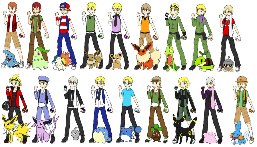 Pokemon And Y Anime Characters Names : Pokemon hetalia male children by lolohe d vuge