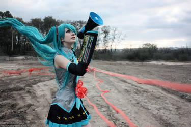 Hatsune Miku - Love is War by The-Kirana