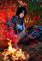 Dragon Age II - Lady Hawke by The-Kirana