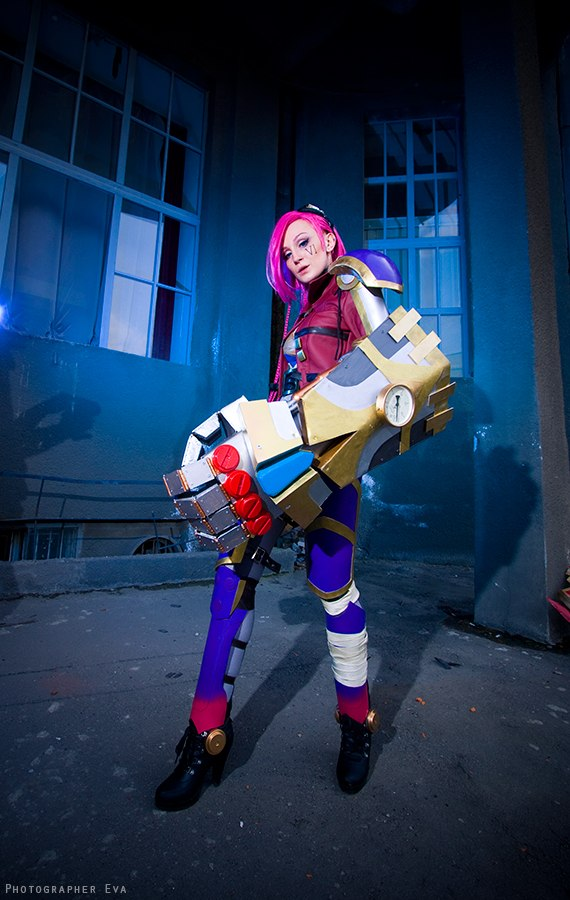 League of Legends - Vi by The-Kirana