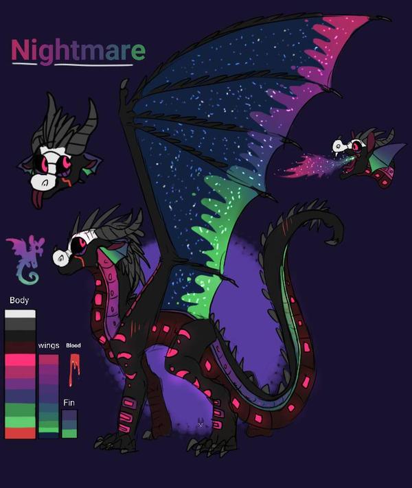 Nightmare by thedragonwindmaster