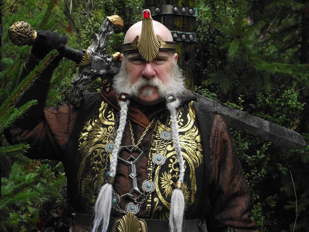 King Paeson Oarwielder by Pirkleations