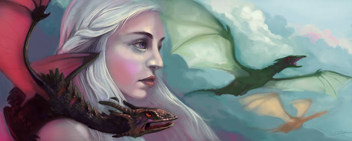 Daenerys From the Fire