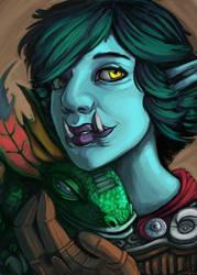 Troll Portriat by L-MakesArt