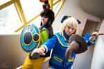Battle ready - Donald and Goofy - KH by Mj-cosphoto