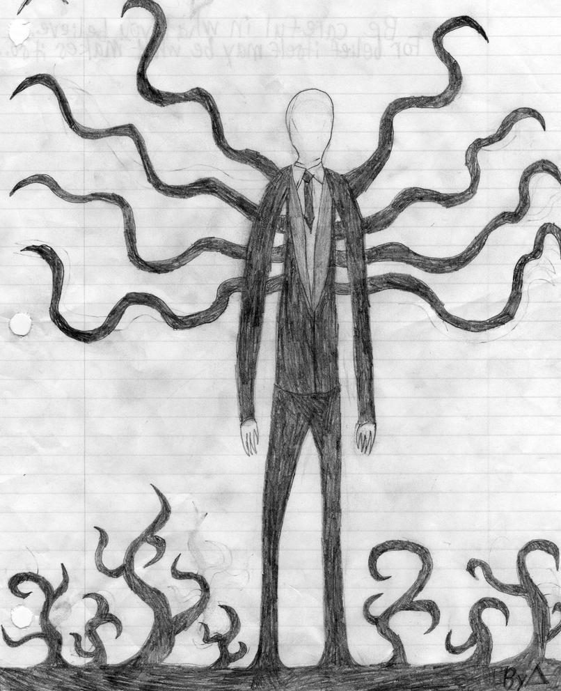 Slenderman by 8bitstitchpunk on deviantart for Slender man coloring pages