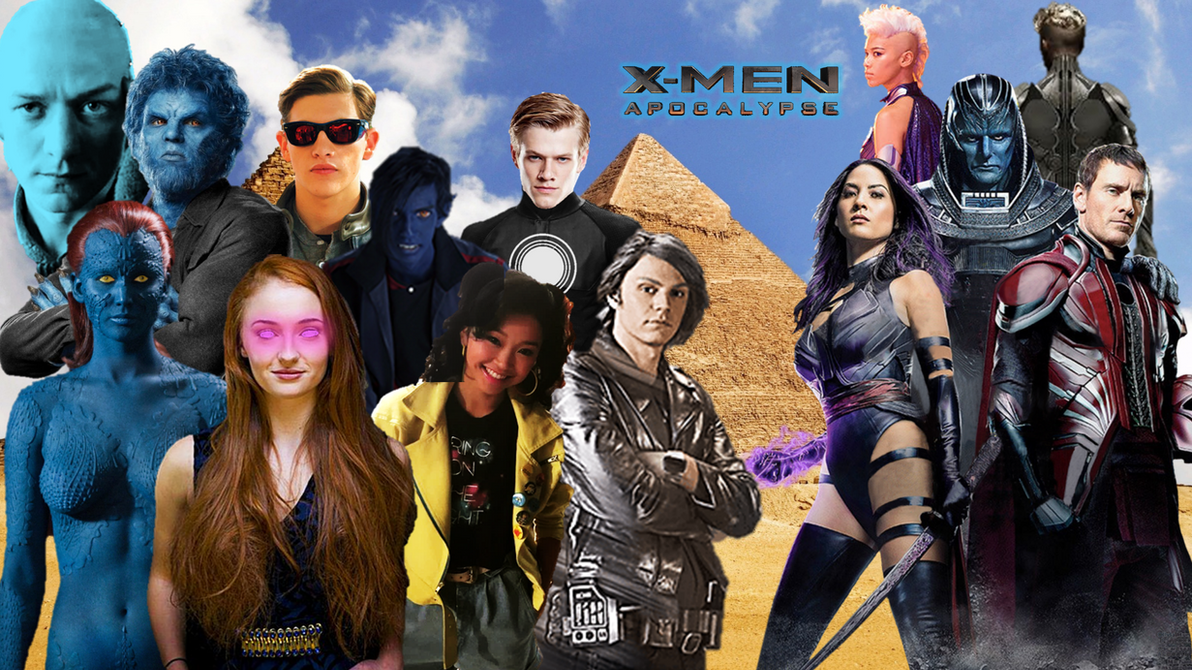 X Men Apocalypse Poster By UncannyHavok