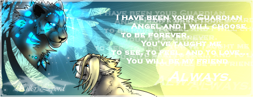 My Friend Always - Banner by killerlepord