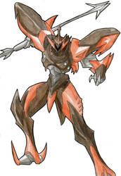 The Eeeeevil of Tekkaman Evil by SinDeath