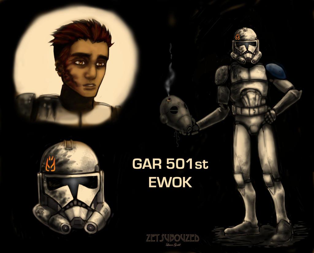 Ewok reference by ZetsubouZed