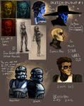 Star Wars Sketchdump 1