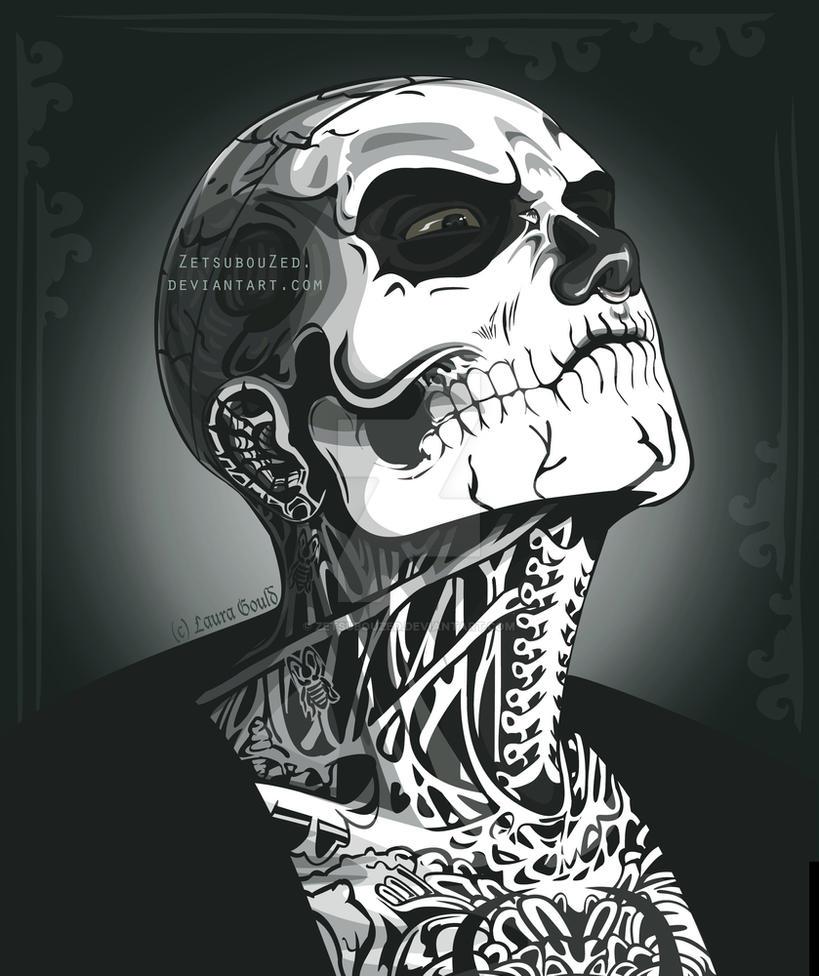 Zombie Boy Portrait by ZetsubouZed