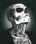 Zombie Boy Portrait