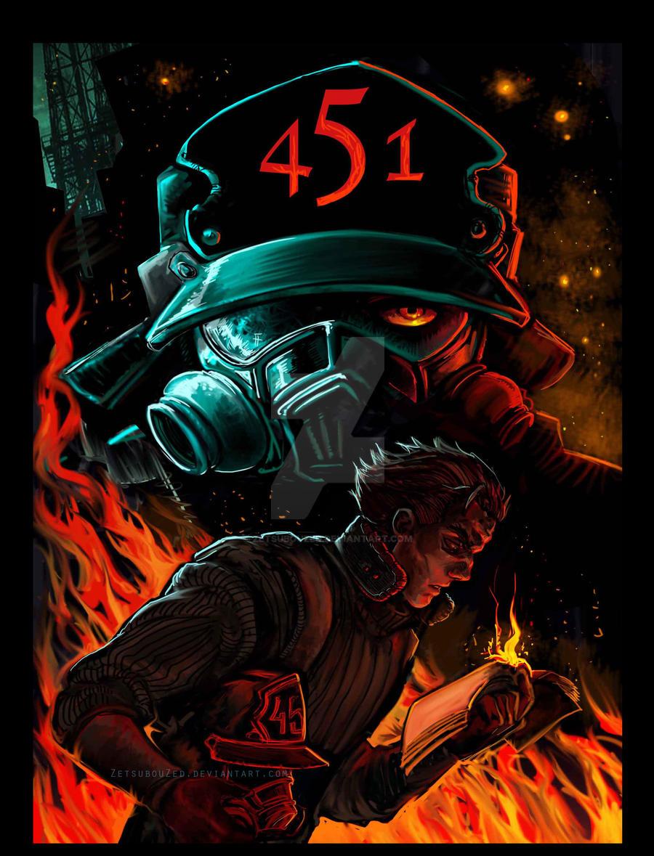 Fahrenheit 451 by ZetsubouZed on DeviantArt