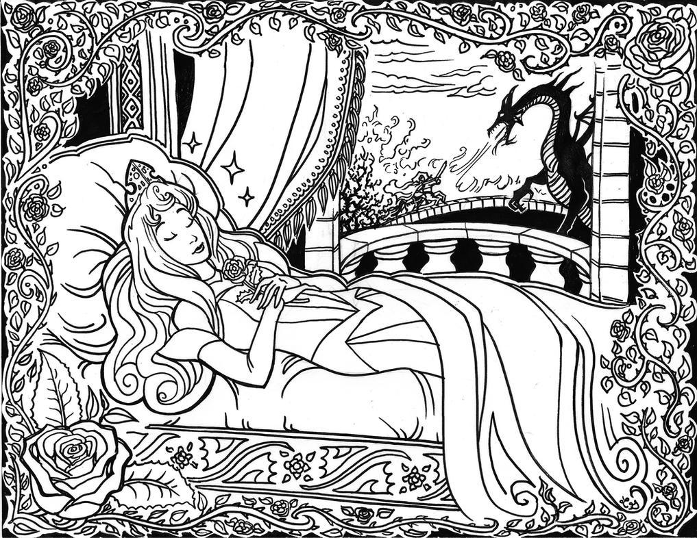 Sleeping Beauty by ZetsubouZed