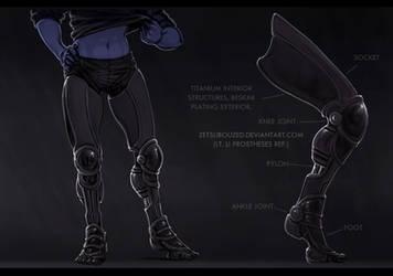 prostheses ref by ZetsubouZed
