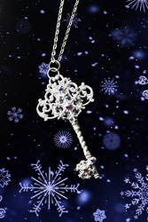Winter Gem Key by BrightStarGifts