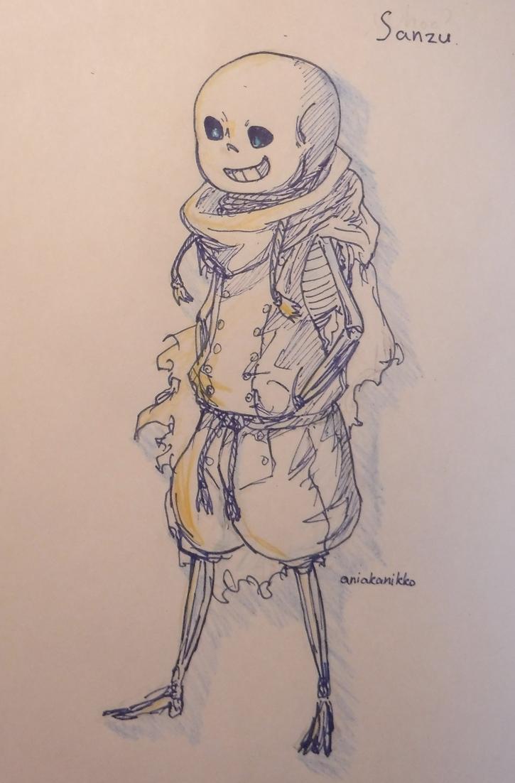 Sanzu sketch by AliceVoznesenskaya