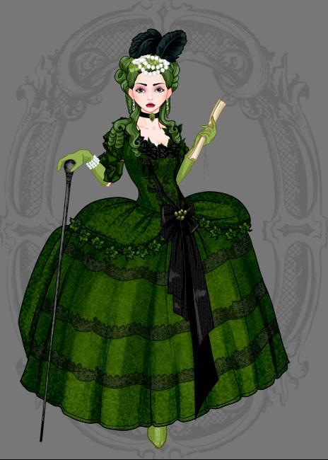 Rococco Style Madame Hydra by L-sama-no-miko