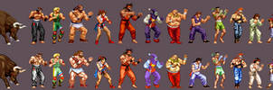 Fighter's History - king of fighters edition