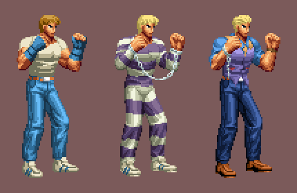 Cody alt costumes - Street Fighter 5 and Alpha 3 by DOA687