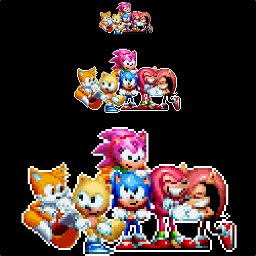 Victory Group Logo >> Sonic Mania plus pose by DOA687 on DeviantArt