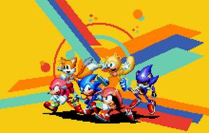 <b>Sonic Mania Custom Fanart For Tyler McGrath</b><br><i>DOA687</i>