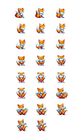 Tails Alt win Sprite Sheet