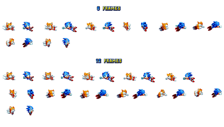 Sonic Custom Pole Animation Sprite Sheet by DOA687