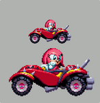 Sonic Mania Custom Pixelart - Dat Knuckles Face