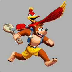 Banjo Kazooie ARE IN SMASH BABY :D !!!!!!!!!!!! by DOA687