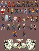 Streets Of Rage 4 Pixelart Complete