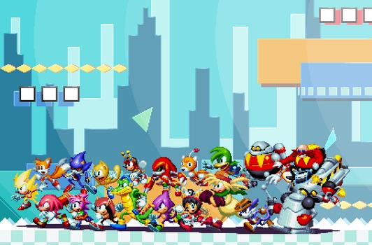 Super Ultra Instinct Complete Sonic Mania Fanart