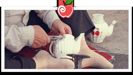 هنر چینی بَندزنی – صنایع دستی