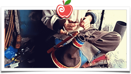 هنر دَلوچه دوزی (دولچه دوزی) – صنایع دستی