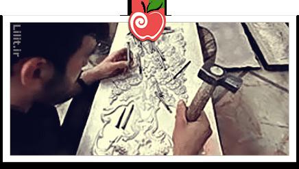 هنر قلم زنی – صنایع دستی
