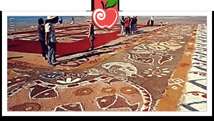هنر نقاشی با شن – صنایع دستی