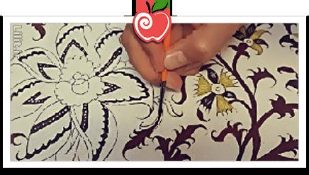 هنر قلمکاری (چیت سازی) – صنایع دستی