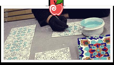 هنر کاشی سازی دستی – صنایع دستی