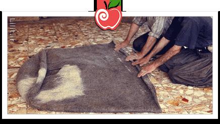 هنر نَمَدسازی (نمدمالی) – صنایع دستی