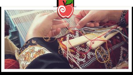 هنر گلیچ بافی – صنایع دستی