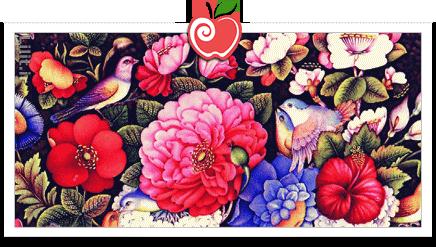 سبک نقاشی، گل و مرغ