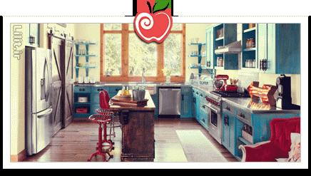 آشپزخانه خود را با تغییراتی جزیی کارآمد کنیم