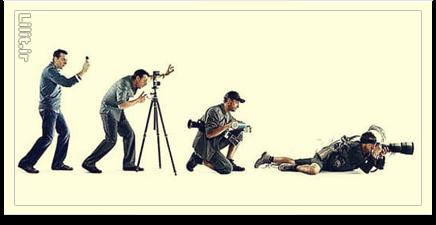 مشخصات عکاس خوب