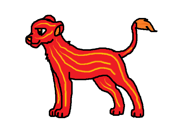 Fire Lioness Adopt 1 - Open by Dsnake1 on DeviantArt