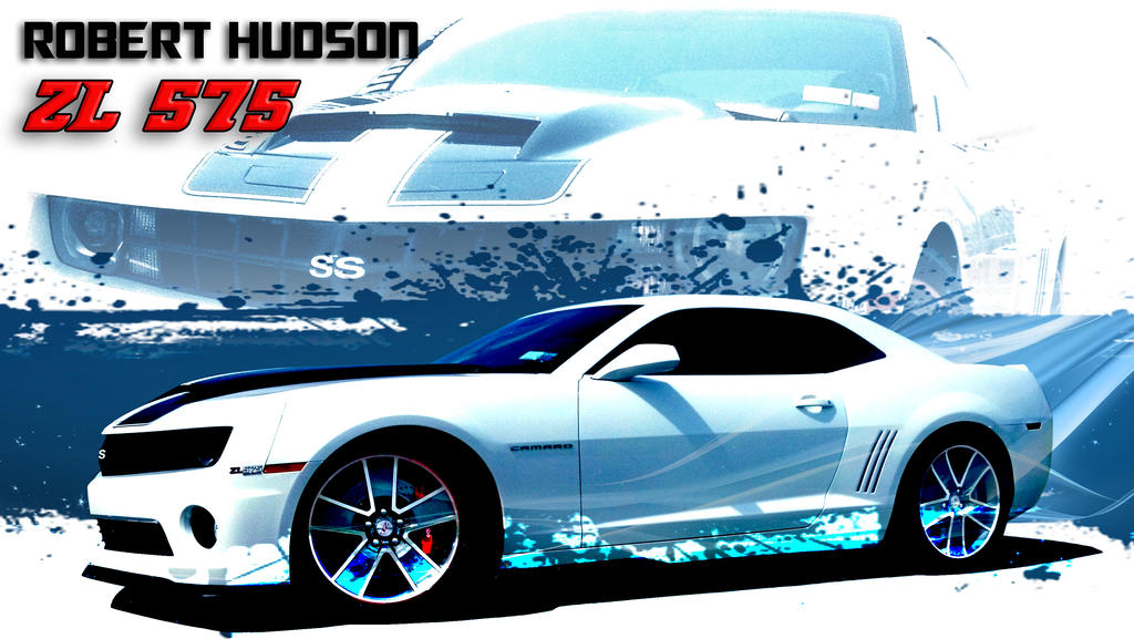 Hudson Slp Camaro Zl575 Supercharged Graphic By