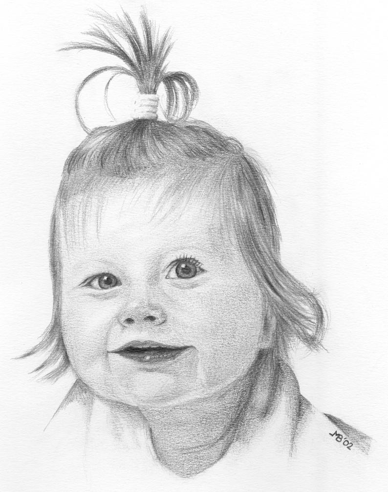 Little Girl Drawing By Marbak71 On DeviantArt