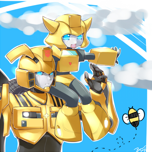 Bumblebee X Bee by M-Zoner