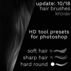 Update: Hair Brushpack by Krovav